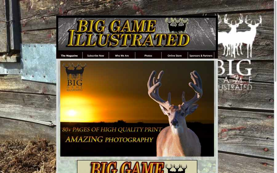 Big Game Illustrated Magazine