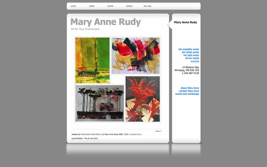 aritist Mary Anne Rudy