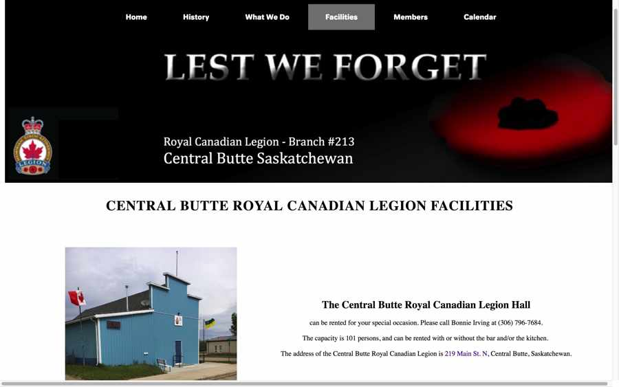 Royal Canadian Legion #213