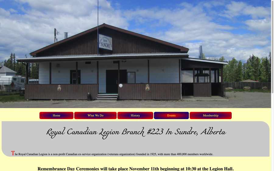 Royal Canadian Legion #223